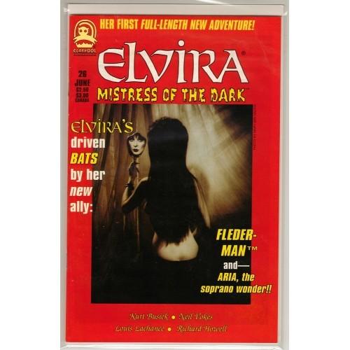1995 Elvira Mistress of the Dark Comic # 26 – NM / VF