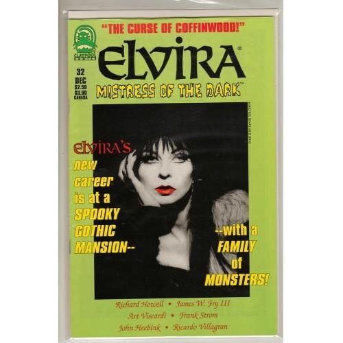 1995 Elvira Mistress of the Dark Comic # 32 – VF / FN