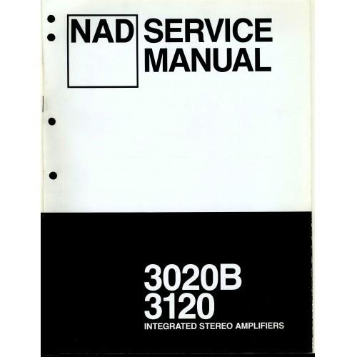 NAD Model 3020B/3120 Amplifier Service Manual