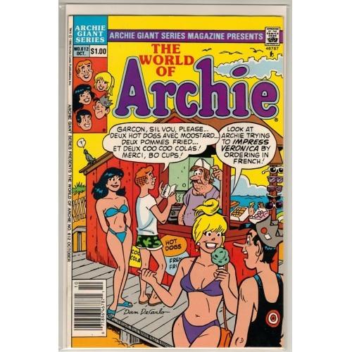 1990 Archie Giant Series Magazine Comic # 612 - FN / VF