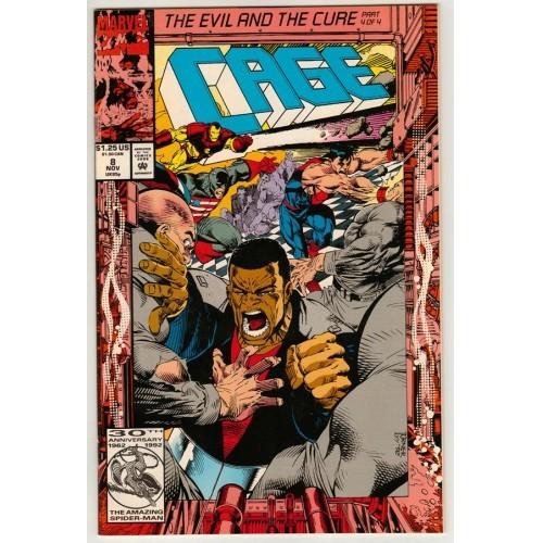 1992 Cage Comic # 8 – NM / VF