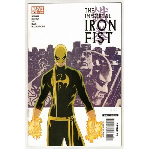 2007 The Immortal Iron Fist Comic # 6 – NM