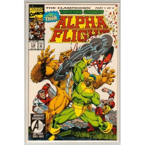 1993 Alpha Flight Comic # 118 – NM