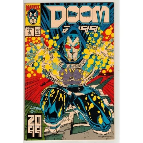 1993 Doom 2099 Comic # 2 – Fn