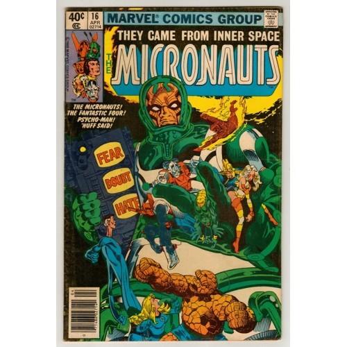 1980 Micronauts Comic # 16 – Fn