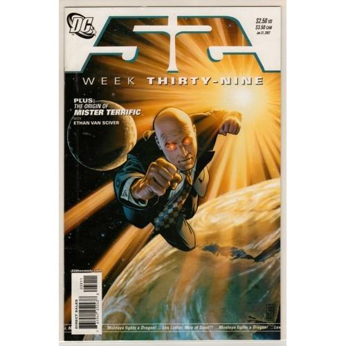 2007 DC Comics  52 - Week Thirty Nine - MT / NM