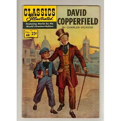 1969 Classics Illustrated Comic # 48: David Copperfield – FN