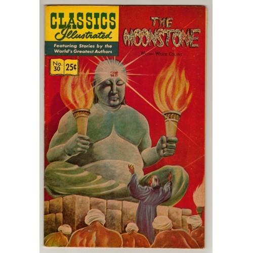 1968 Classics Illustrated Comic # 30: The Moonstone – VF