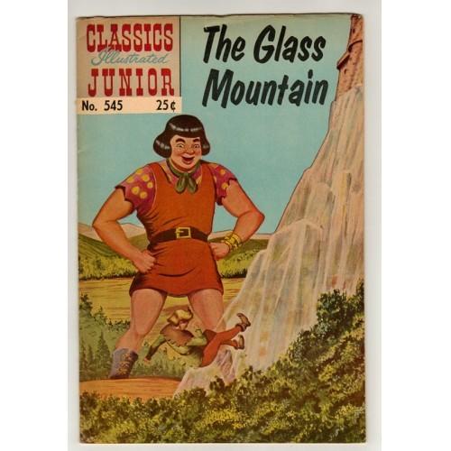 1968 Classics Illustrated Junior Comic # 545: The Glass mountain – VG