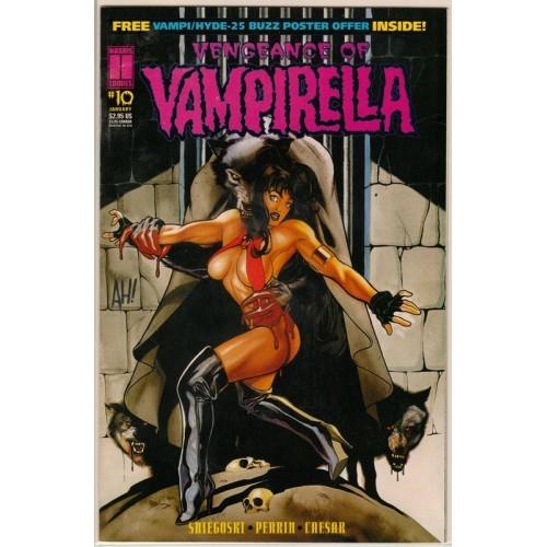 1995 Vengeance Of Vampirella Comic # 10 - NM