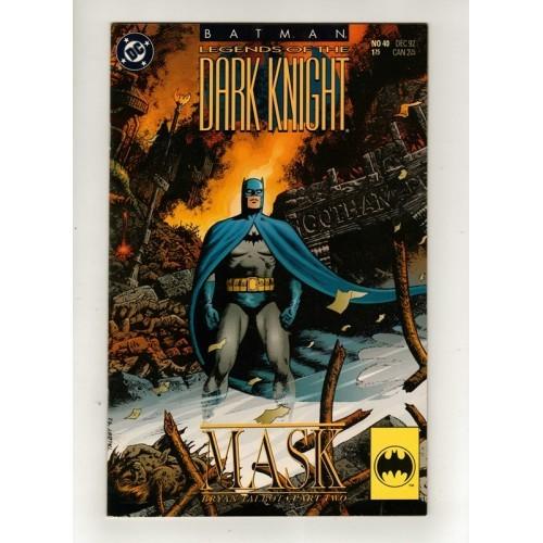 1992 Batman Legends of the Dark Knight Comic # 40 – NM / VF