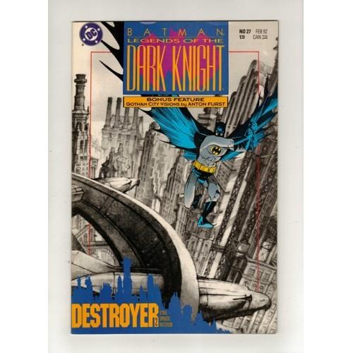 1992 Batman Legends of the Dark Knight Comic # 27 – NM