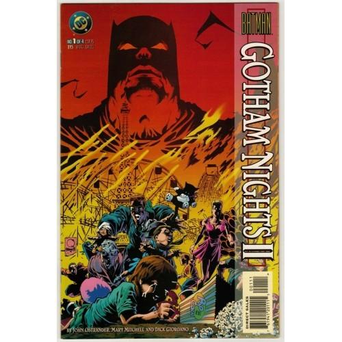 1995 Batman:  Gotham  Nights 2 Comic # 1 – NM