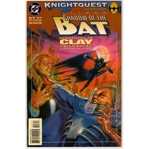 1994 Batman: Shadow of the Bat Comic # 27 – NM