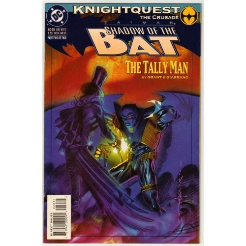 1993 Batman: Shadow of the Bat Comic # 20 – NM