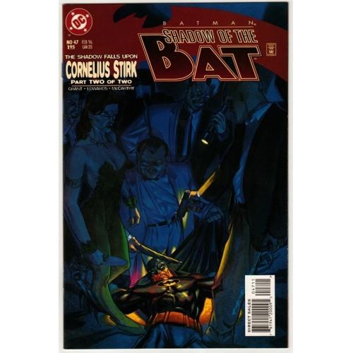 1996 Batman: Shadow of the Bat Comic # 47 – NM