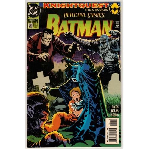1994 Detective Comics # 671 – NM