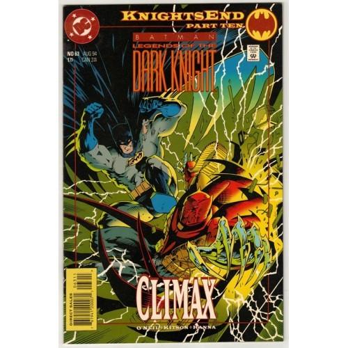 1994 Batman: Legends of The Dark Knight Comic # 63 – NM