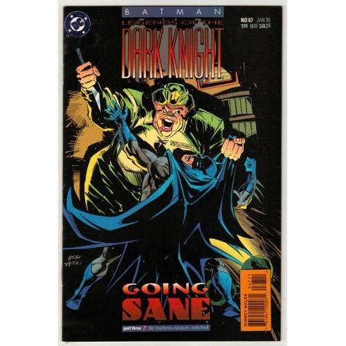 1995 Batman: Legends of The Dark Knight Comic # 67 – NM