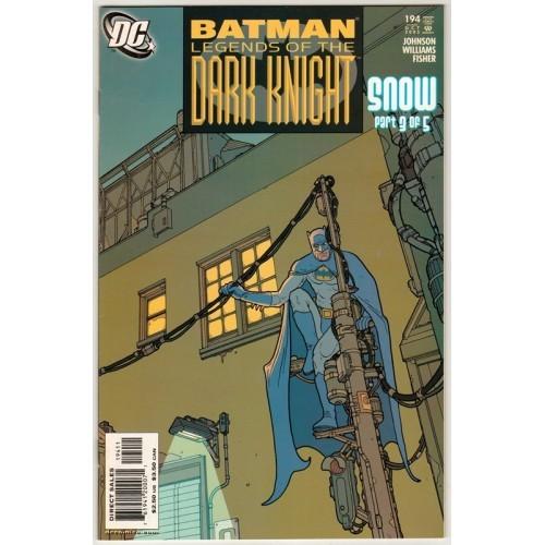 2005 Batman: Legends of The Dark Knight Comic # 194 – NM