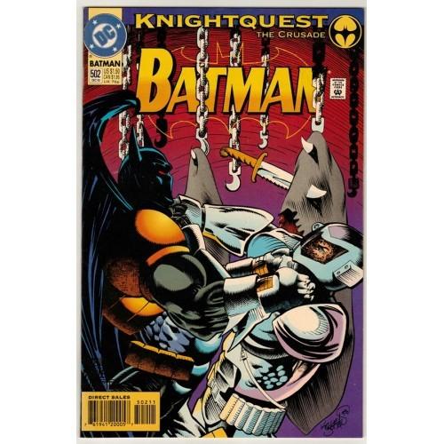 1993 Batman Comic # 502 – NM