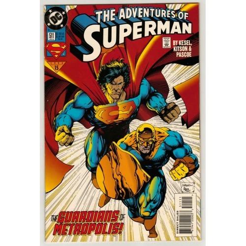 1994 Adventures of Superman Comic # 511 – LN