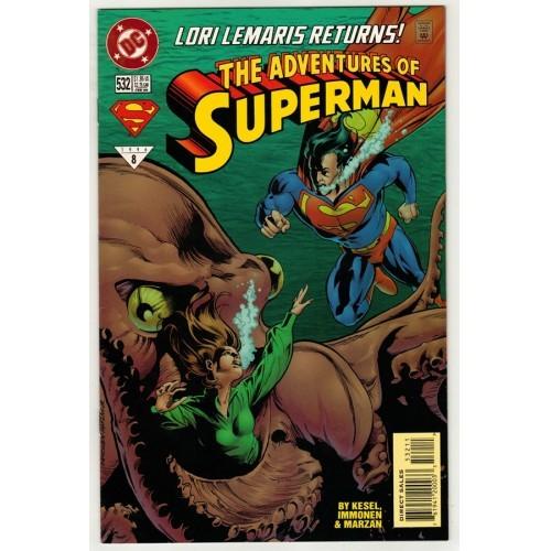 1996 Adventures of Superman Comic # 532 – NM