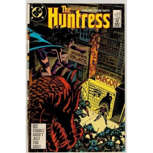 1989 Huntress Comic # 4 – VF / FN