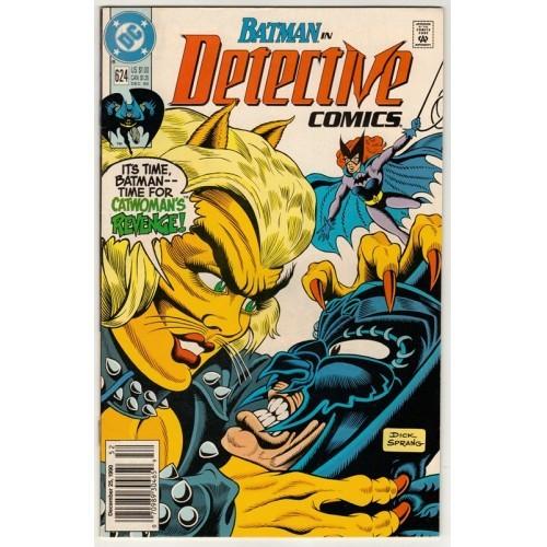 1990 Detective Comics # 624 – NM