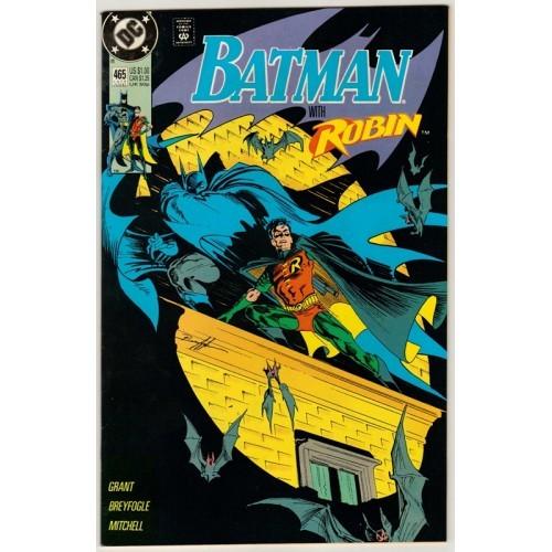 1991 Batman Comic # 465 – NM