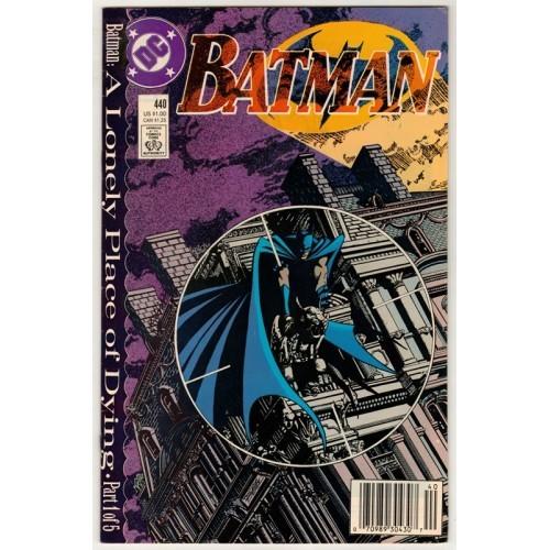 1989 Batman Comic # 440 – NM