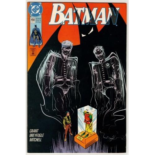 1990 Batman Comic # 456 – VF