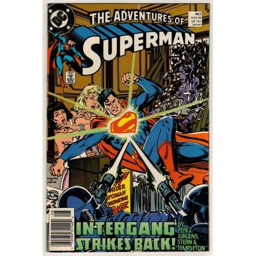 1989 Adventures of Superman Comic # 457 – VF