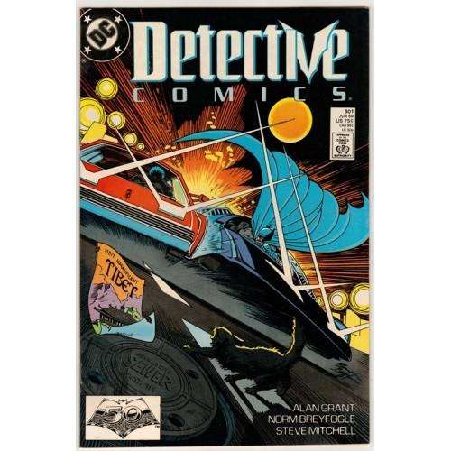 1989 Detective Comics # 601 – VF