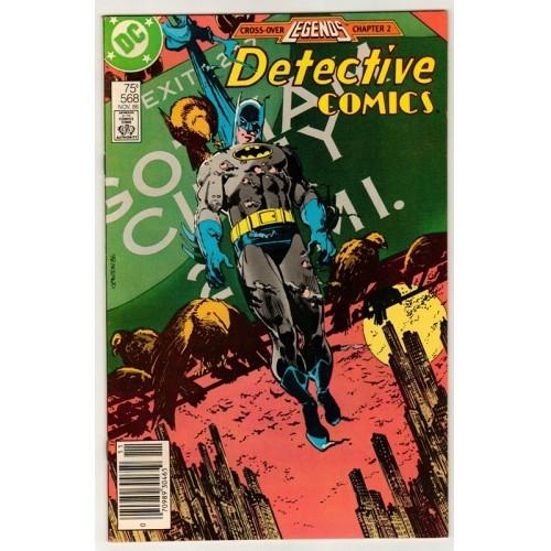 1986 Detective Comics # 568 – NM