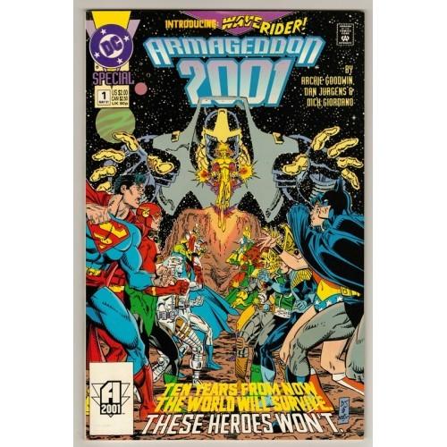 1991 Armageddon 2001 Comic # 1 – FN