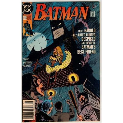 1991 Batman Comic # 458 – FN