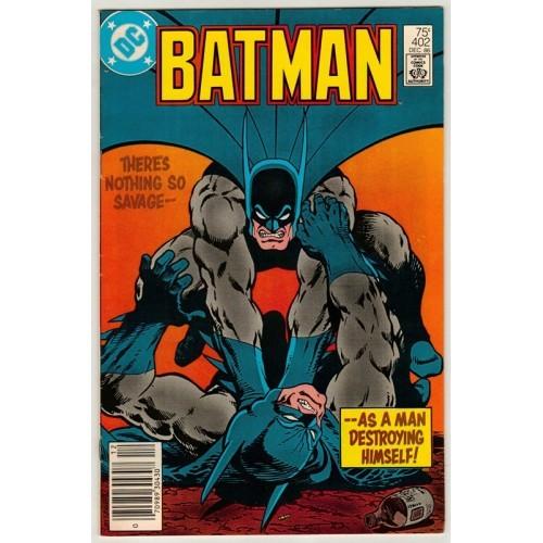 1986 Batman Comic # 402 – VF