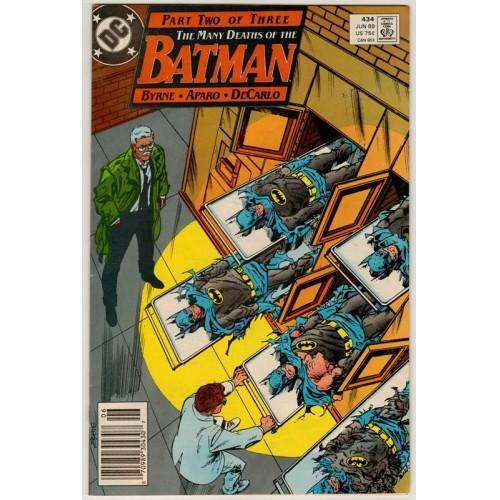 1989 Batman Comic # 434 – FN