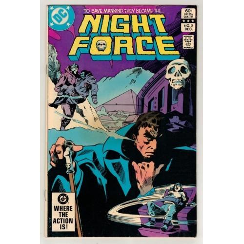 1982 Night Force Comic # 5 – VF / Fn