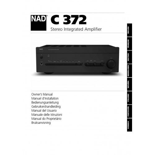 NAD Model C372 Amplifier Owners Manual