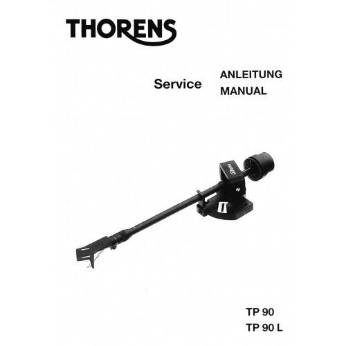 Thorens TP-90/90L Tonearm Service Manual