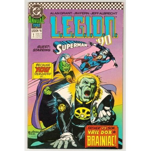 1990 L.E.G.I.O.N. Annual Comic # 1 – NM