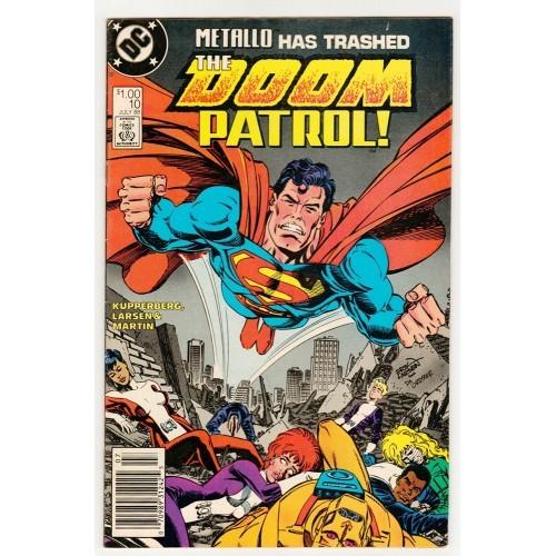 1988 Doom Patrol Comic # 10 – VF