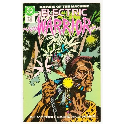 1987 Electric Warrior Comic # 16 – VF