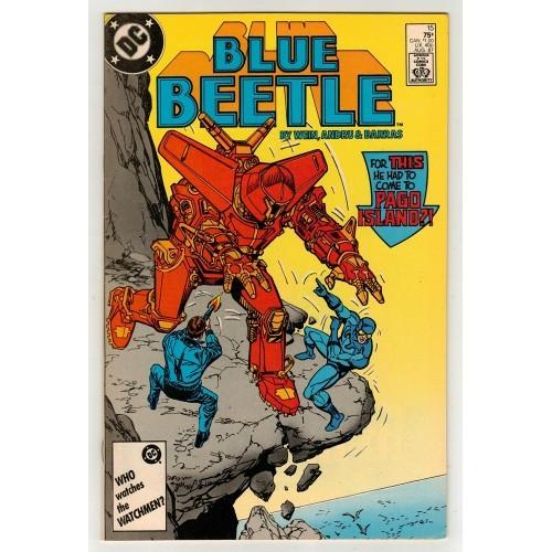 1987 Blue Beetle Comic # 15 – NM
