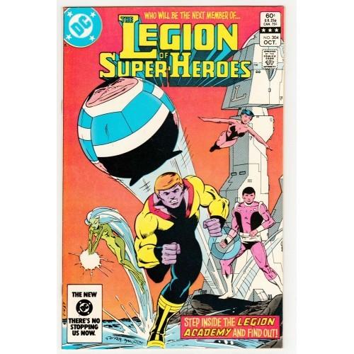1983 Legion Of Super Heroes Comic # 304 – NM