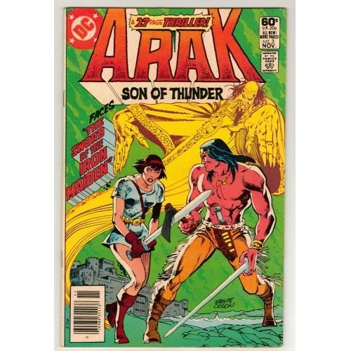 1981 Arak Son Of Thunder Comic # 3 – FN
