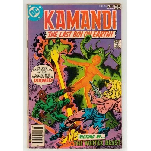 1978 Kamandi The Last Boy On Earth Comic # 55 – Fn