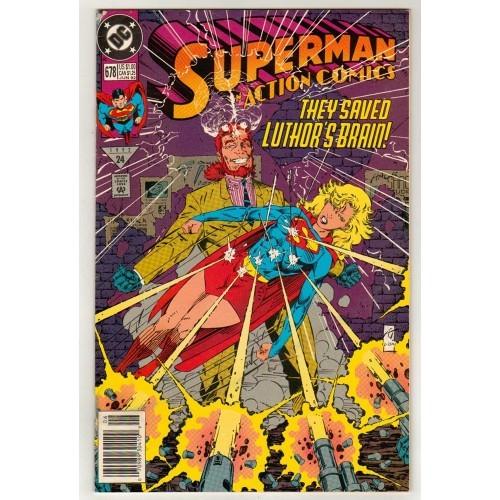 1992 Action Comics # 678 – VF